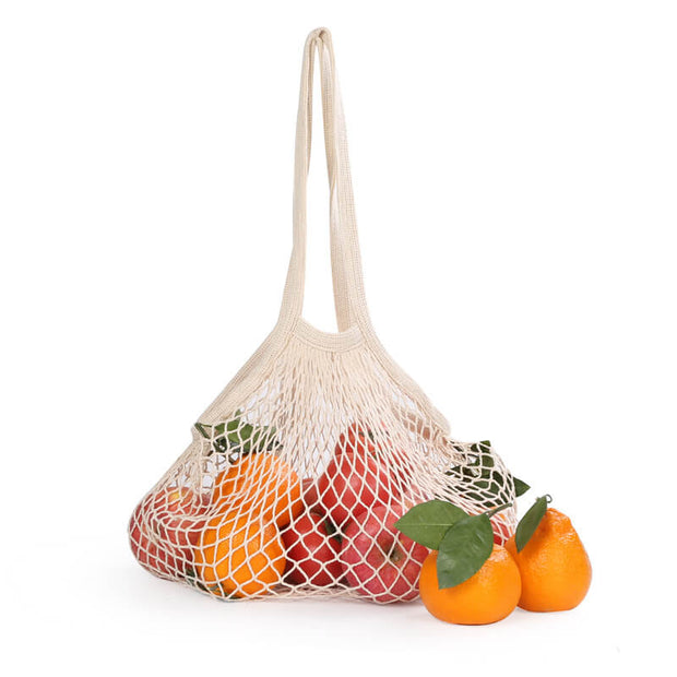Mesh Net Reusable Bags Shopping Fruit Storage Handbag
