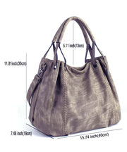 Women's Satchel Hobo Top Handle Tote Shoulder Bag