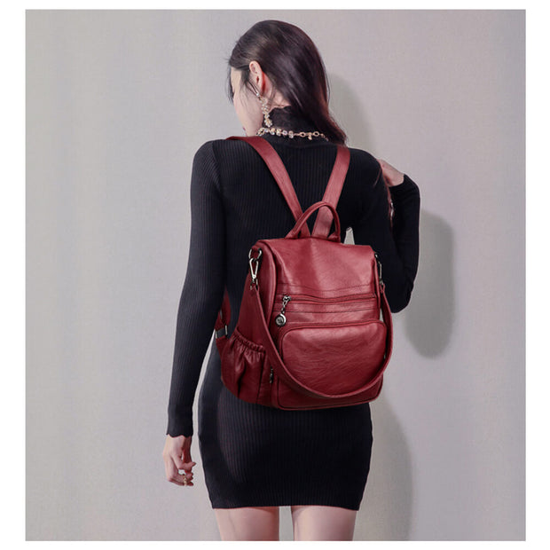 Casual Shoulder Bag Fashion Women Backpack