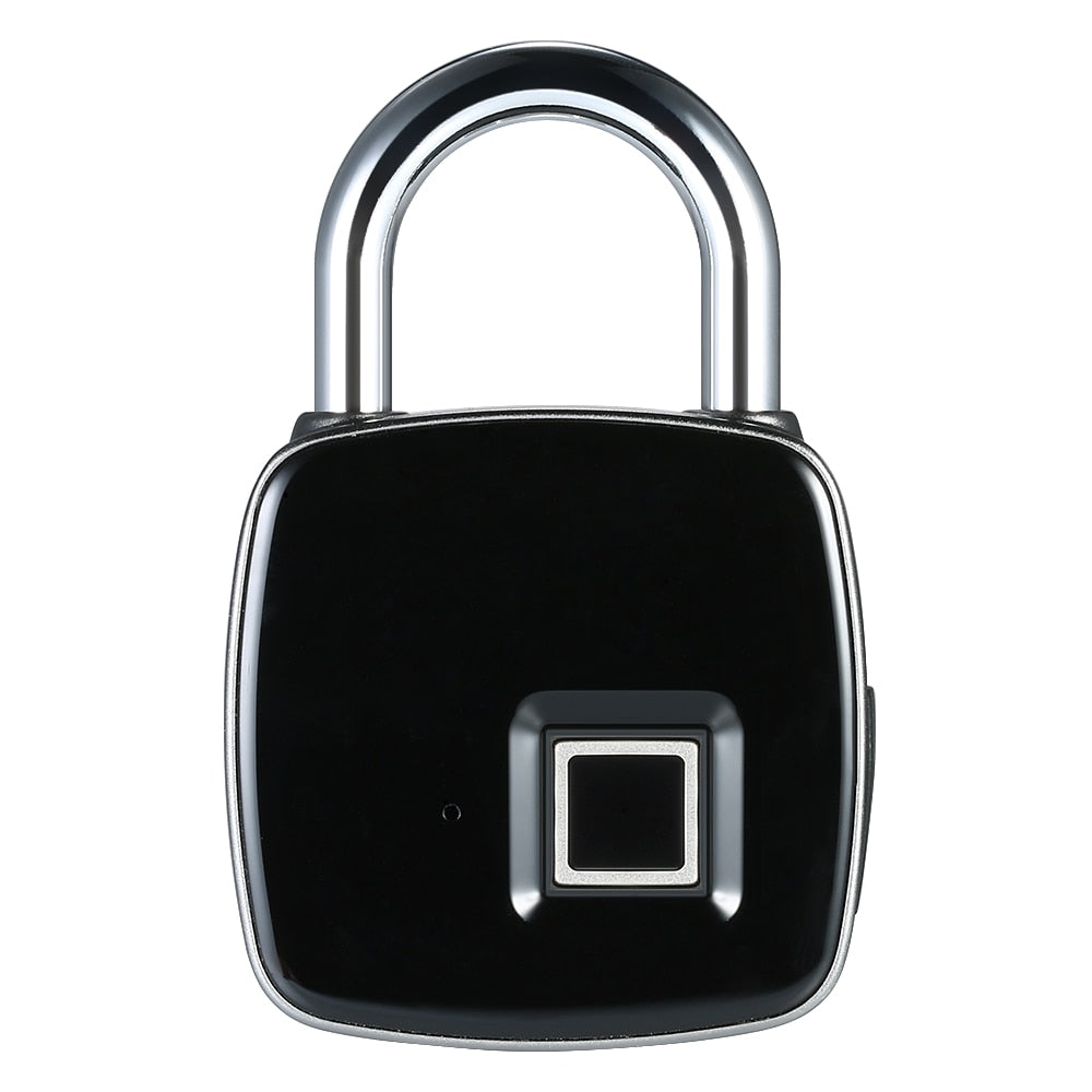 Keyless Fingerprint Padlock - USB Rechargeable