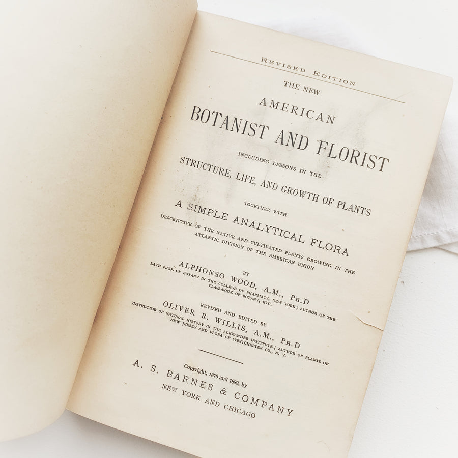 1889 - The New American Botanist and Florist