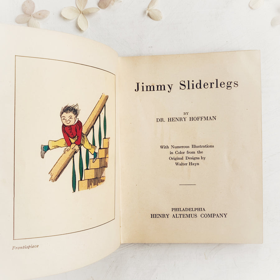 1924 - Jimmy Sliderlegs, Henry Altemus Co.