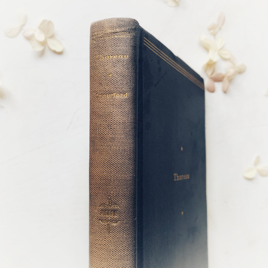 1934 - Henry David Thoreau, First Edition