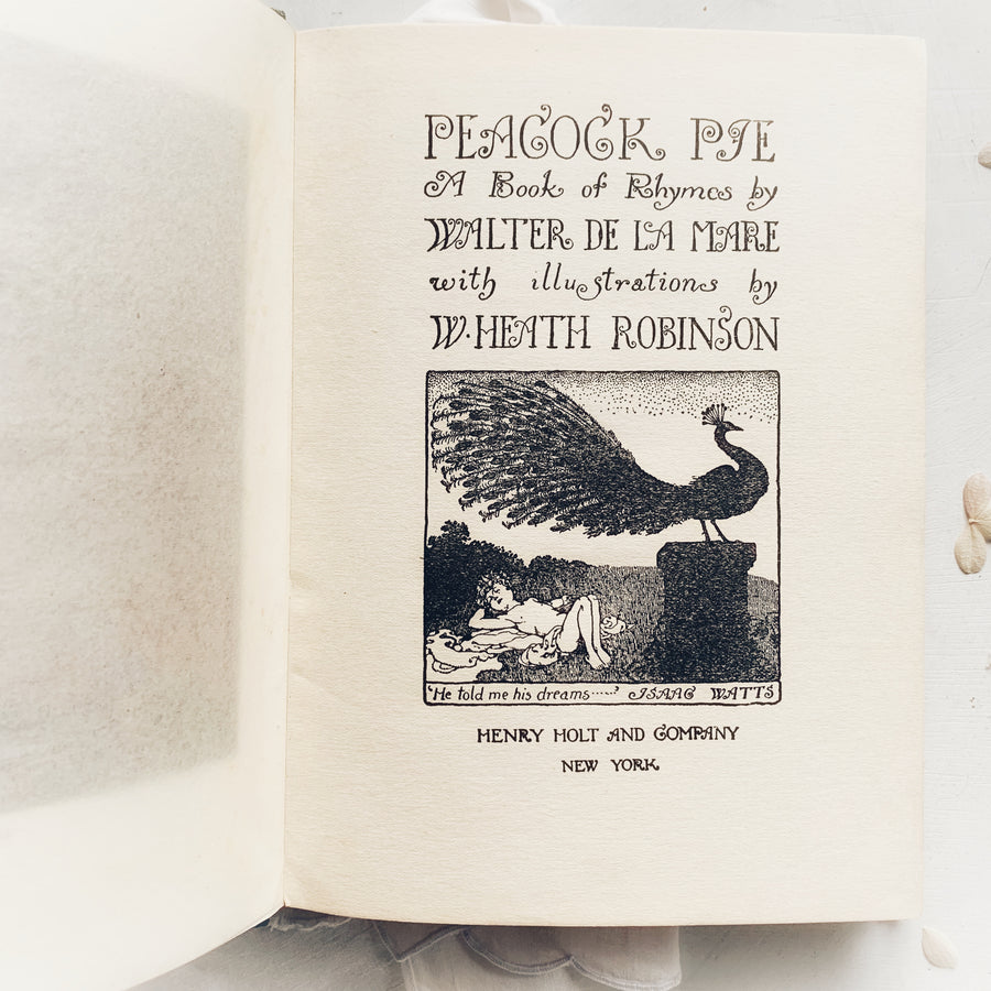 c.1920 - Peacock Pie, A Book of Rhymes