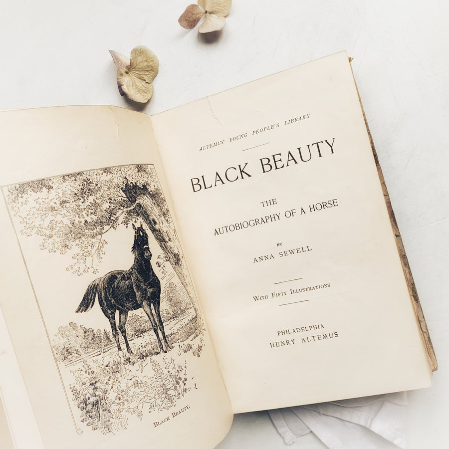 1897 - Black Beauty; The Autobiography of a Horse, Henry Altemus