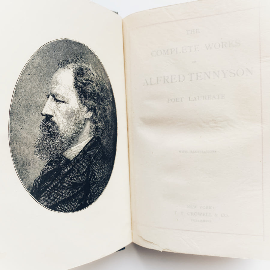 c. 1890 - The Complete Works of Alfred Tennyson
