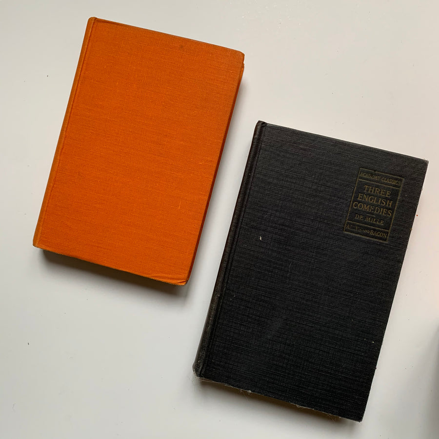 ***RESERVED for Karen - Orange/ Black Books