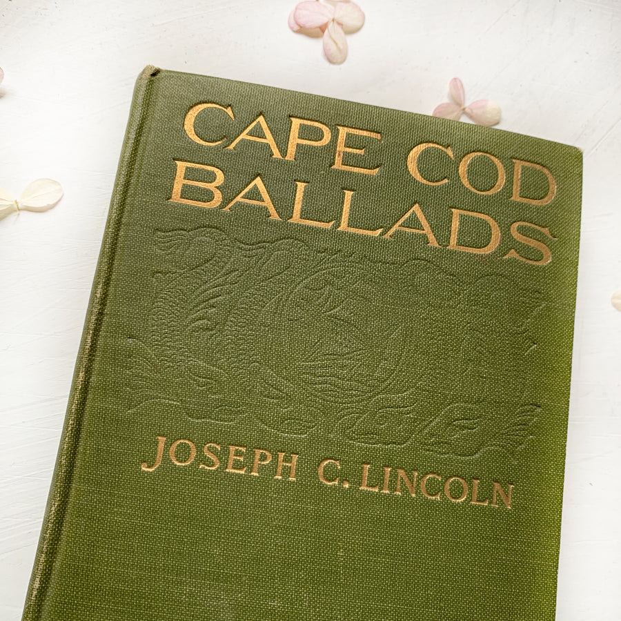 1921 - Cape Cod Ballads and Other Verse