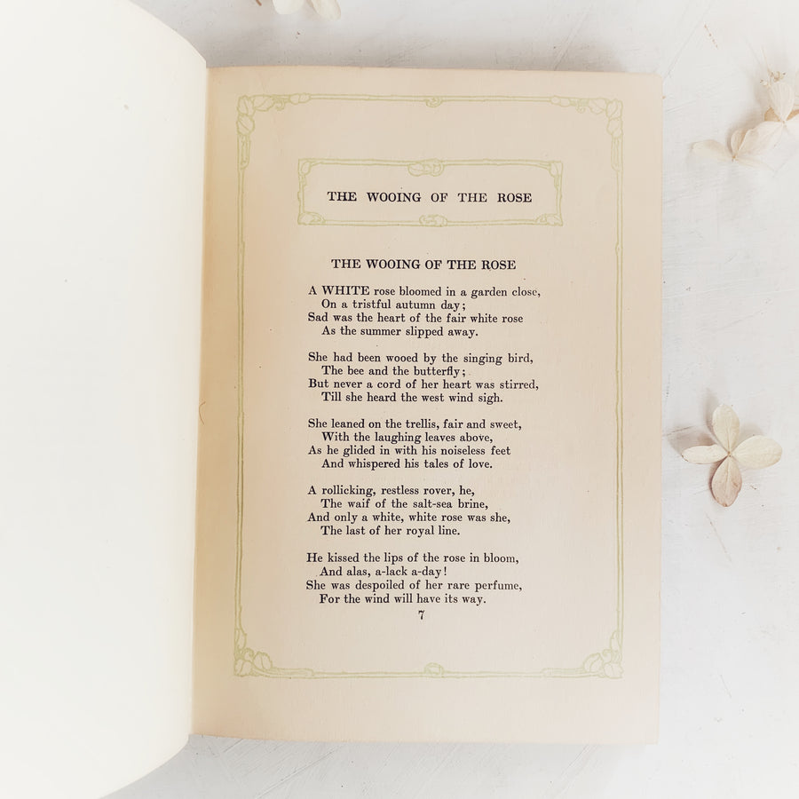 1911 - The Wooing of the Rose and Other Poems, First Edition