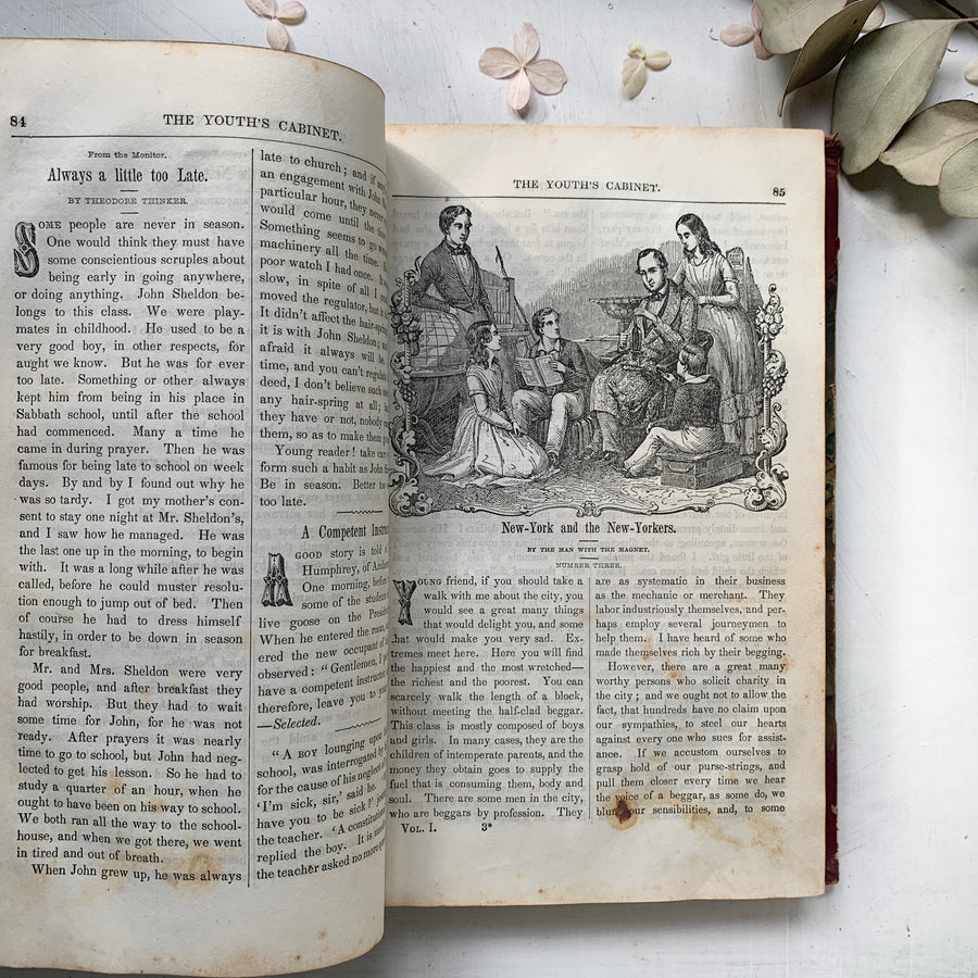 1846 - The Youth's Cabinet: Book of Gems, For The Mind And The Heart
