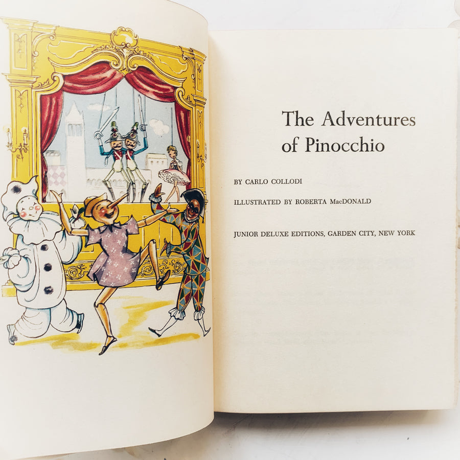 1955 - The Adventures of Pinocchio