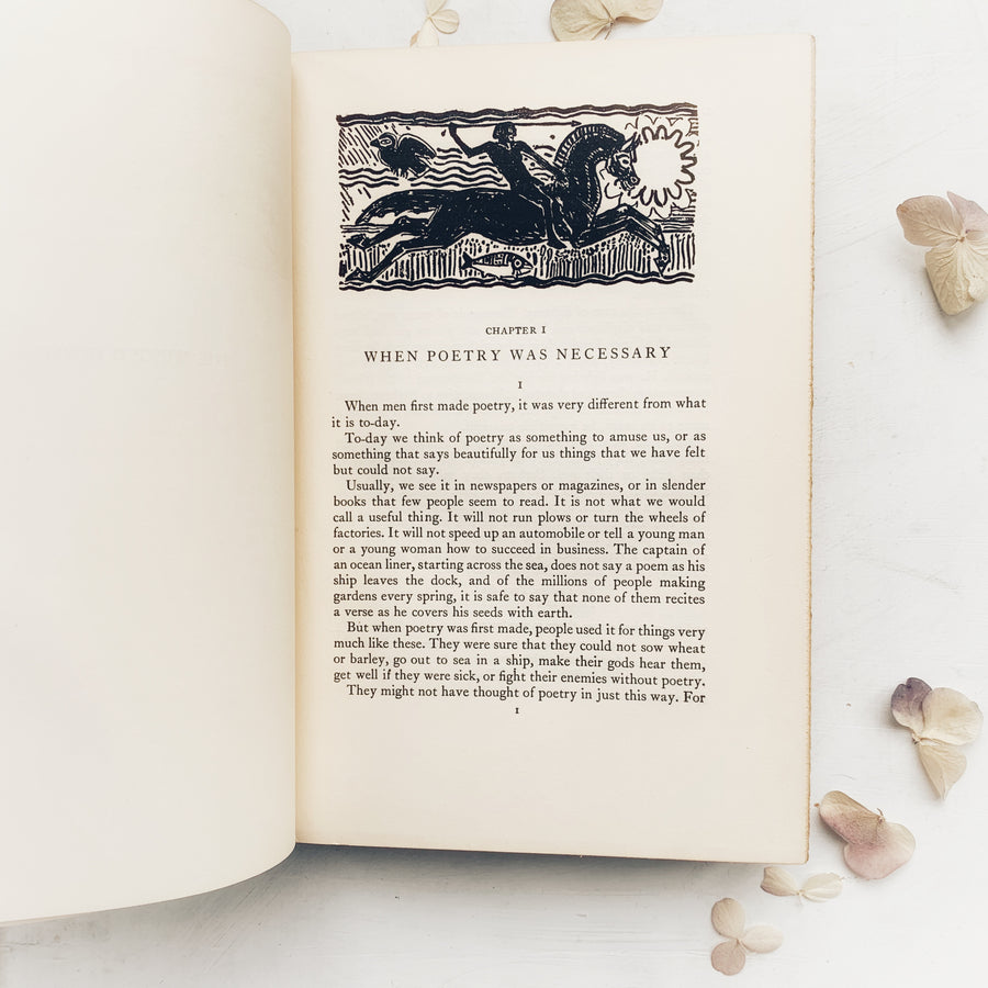 1927 - The Winged Horse, The Story of Poets and Their Poetry, First Edition