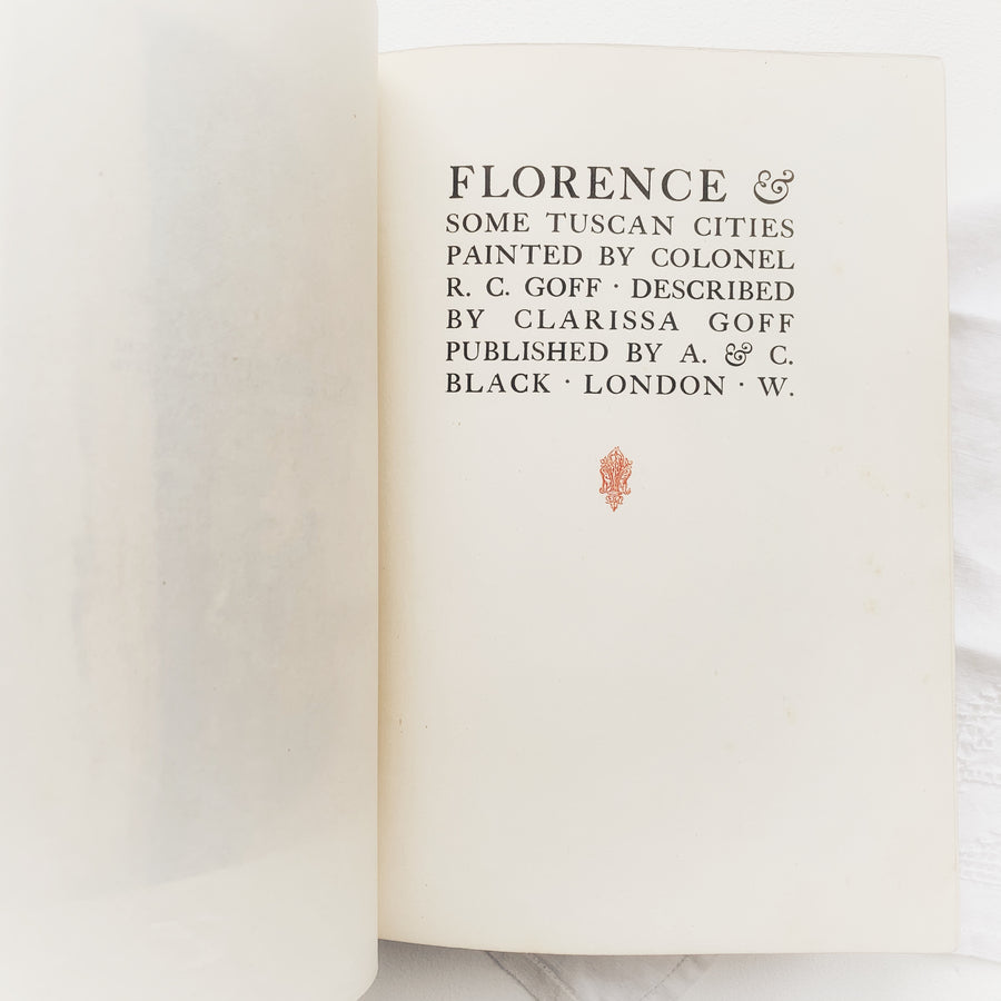 1905 - Florence & Some Tuscan Cities