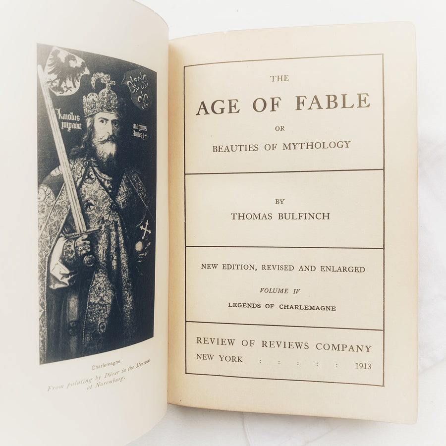 1913 - The Age of the Fable Or Beauties of Mythology