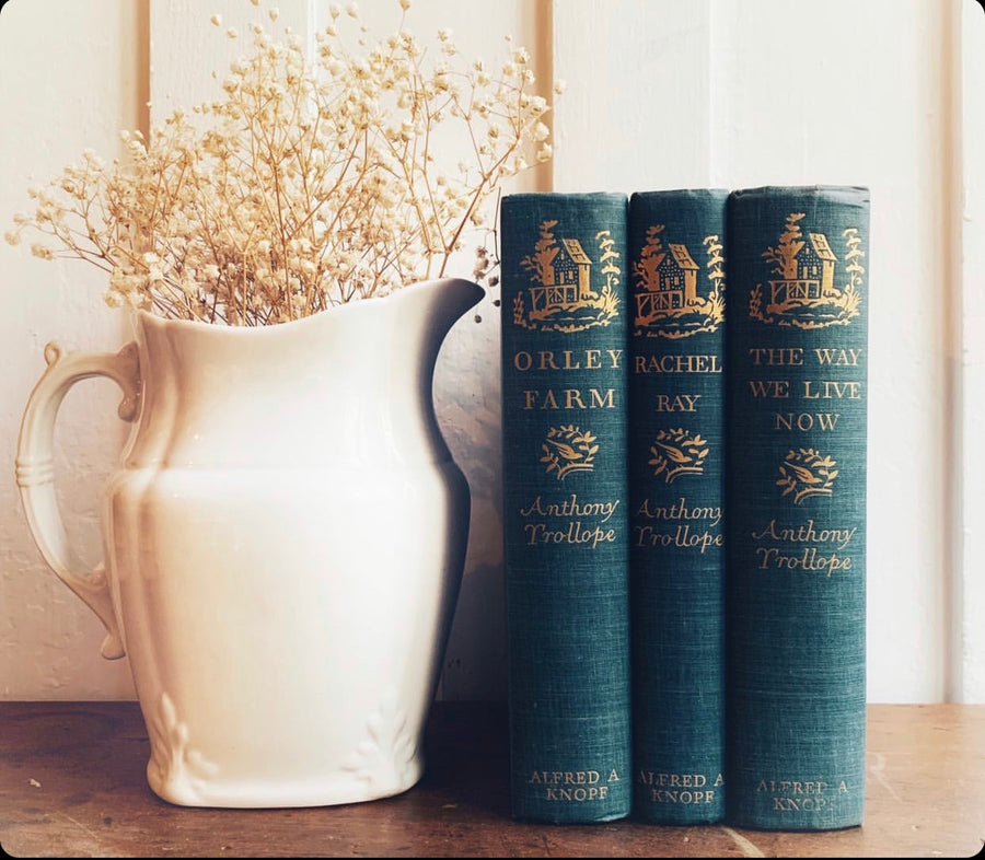 ***Reserved for Deanna - Anthony Trollope Novels, First Editions