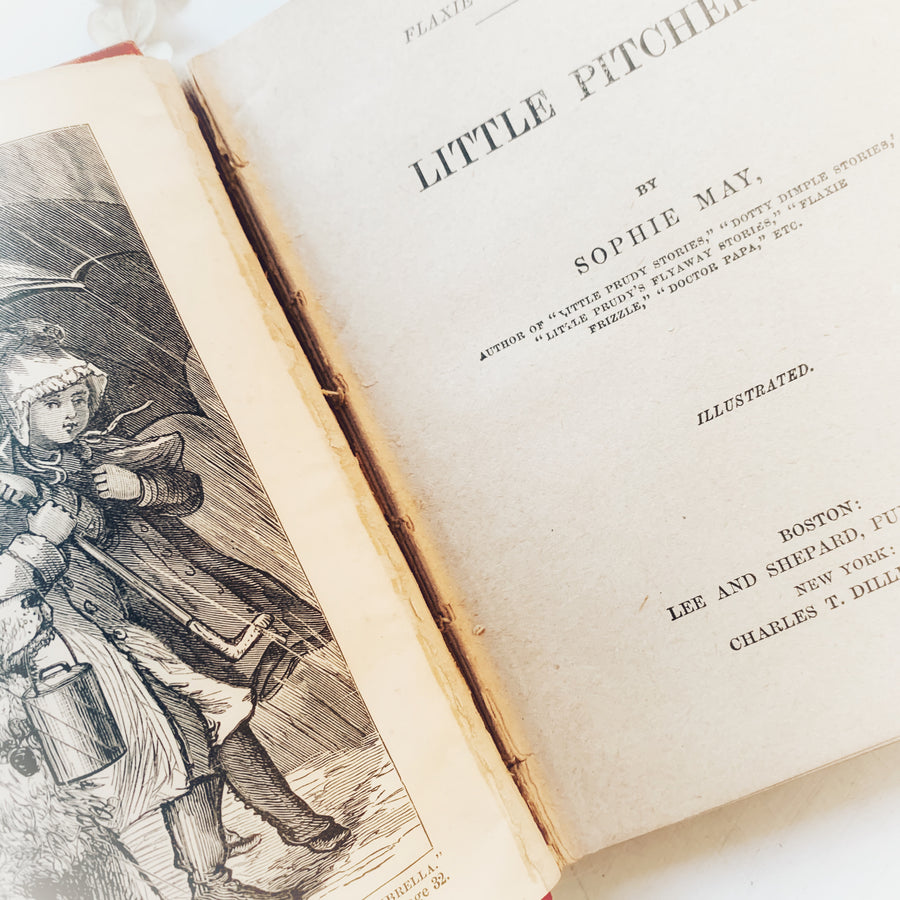 1878 - Flaxie Frizzle Stories, Little Pitchers, First Edition