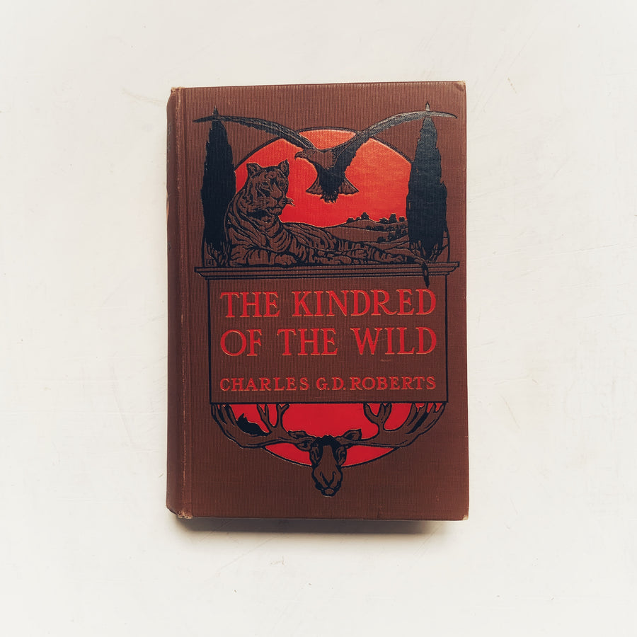 1905 - The Kindred of the Wild, A Book of Animal Life