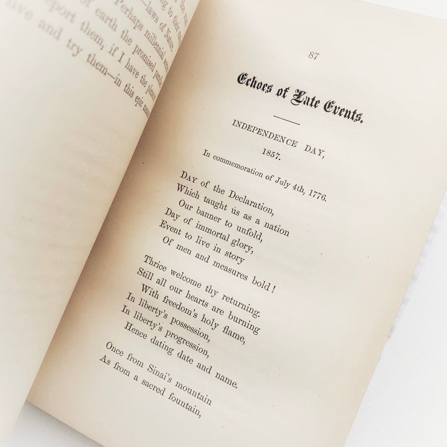 1870 - Rhymes of the Times and Other Chimes, First Edition