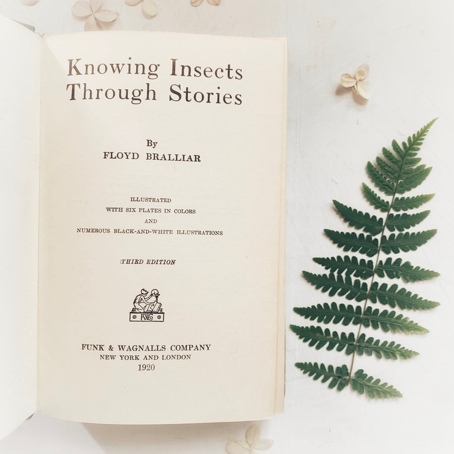 1920 - Knowing Insects Through Stories