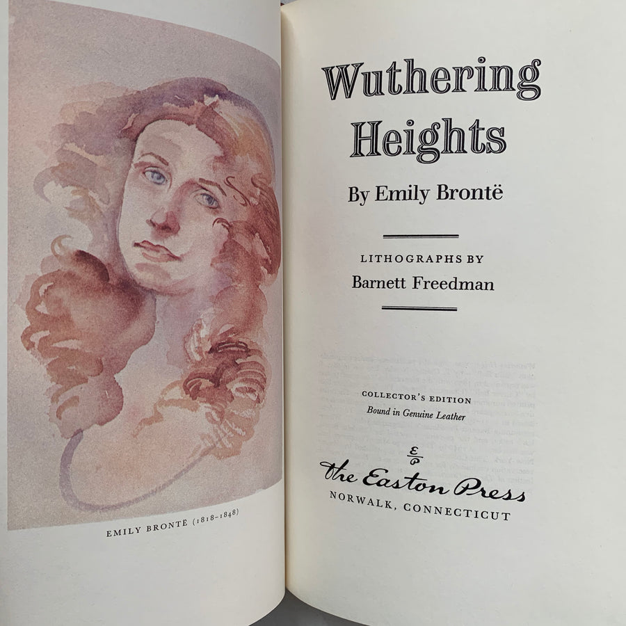 1980 - Wuthering Heights, Easton Press, First Edition