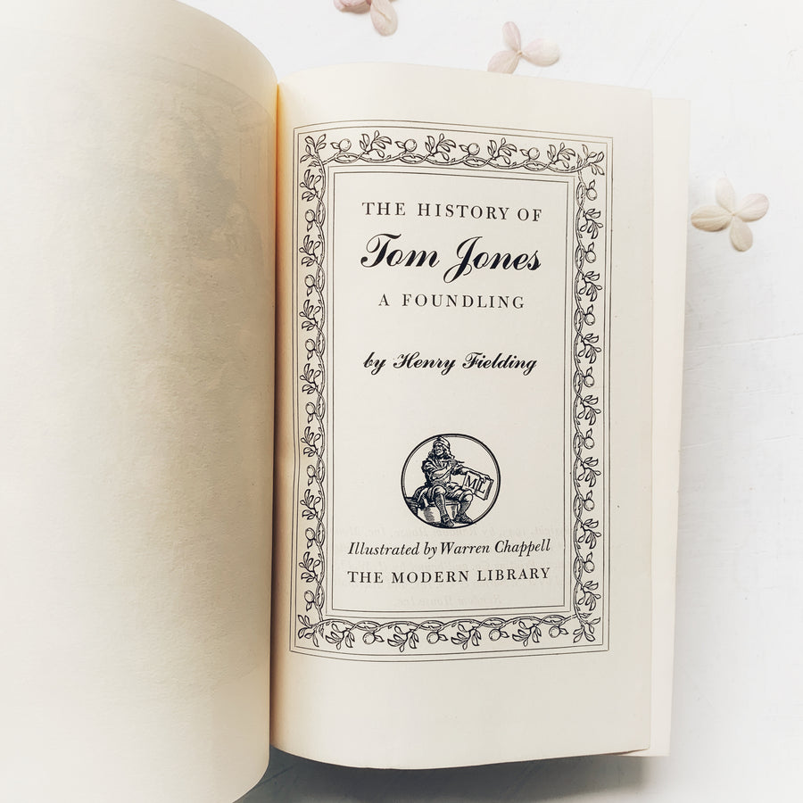 1943 - The Modern Library; The History of Tom Jones, A Foundling