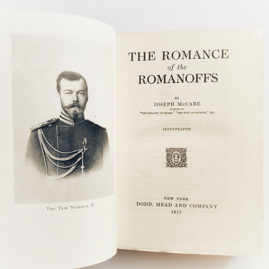 1917 - The Romance of the Romanoffs, First Edition