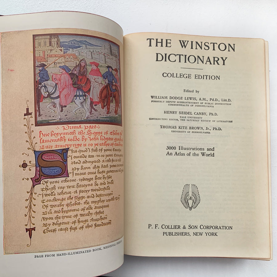 1942 - The Winston Dictionary, Illustrated