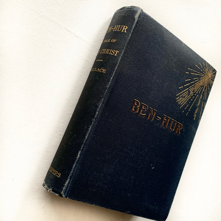 1880 - Ben-Hur, A Tale of Christ, First Edition