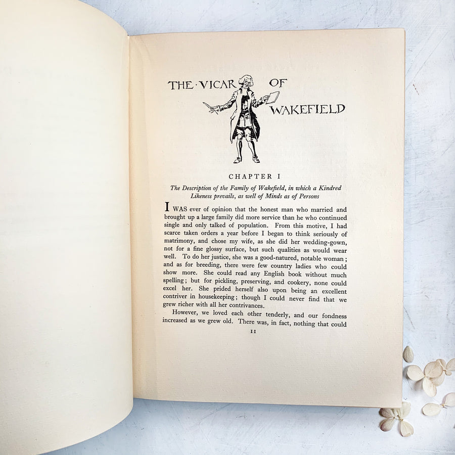 c.1929 - The Vicar of Wakefield, 1st US Edition, Arthur Rackham