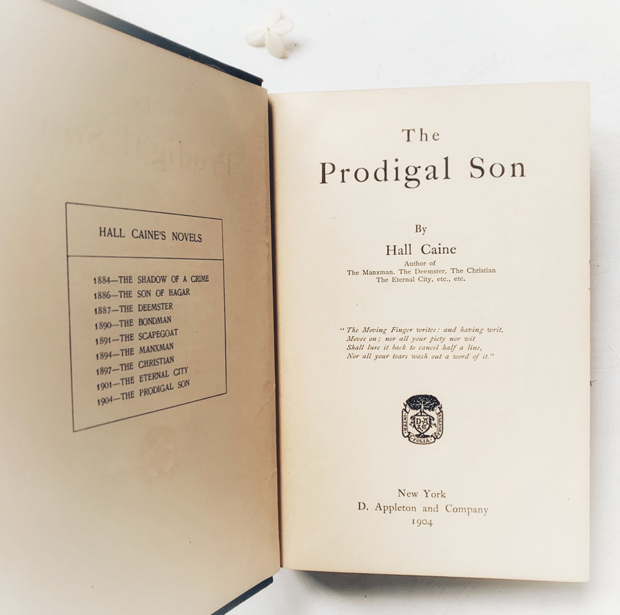 1904 = The Prodigal Son, First Edition