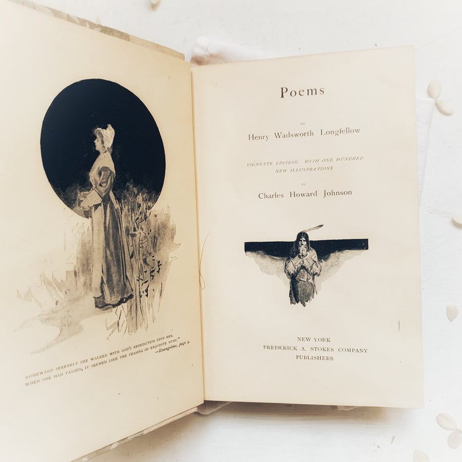 1893 - Poems By Henry Wadsworth Longfellow