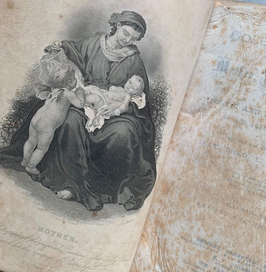 1883 - Golden Thought on Mother, Home, and Heaven