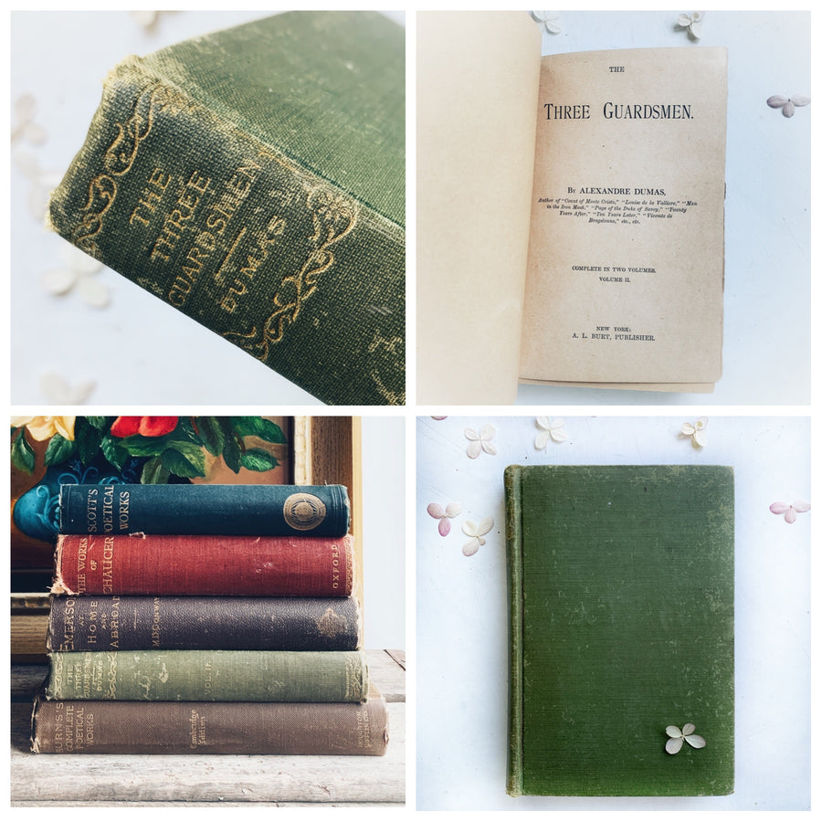 Lightly Distressed Mix of Antiquarian Poetry & Literature Books