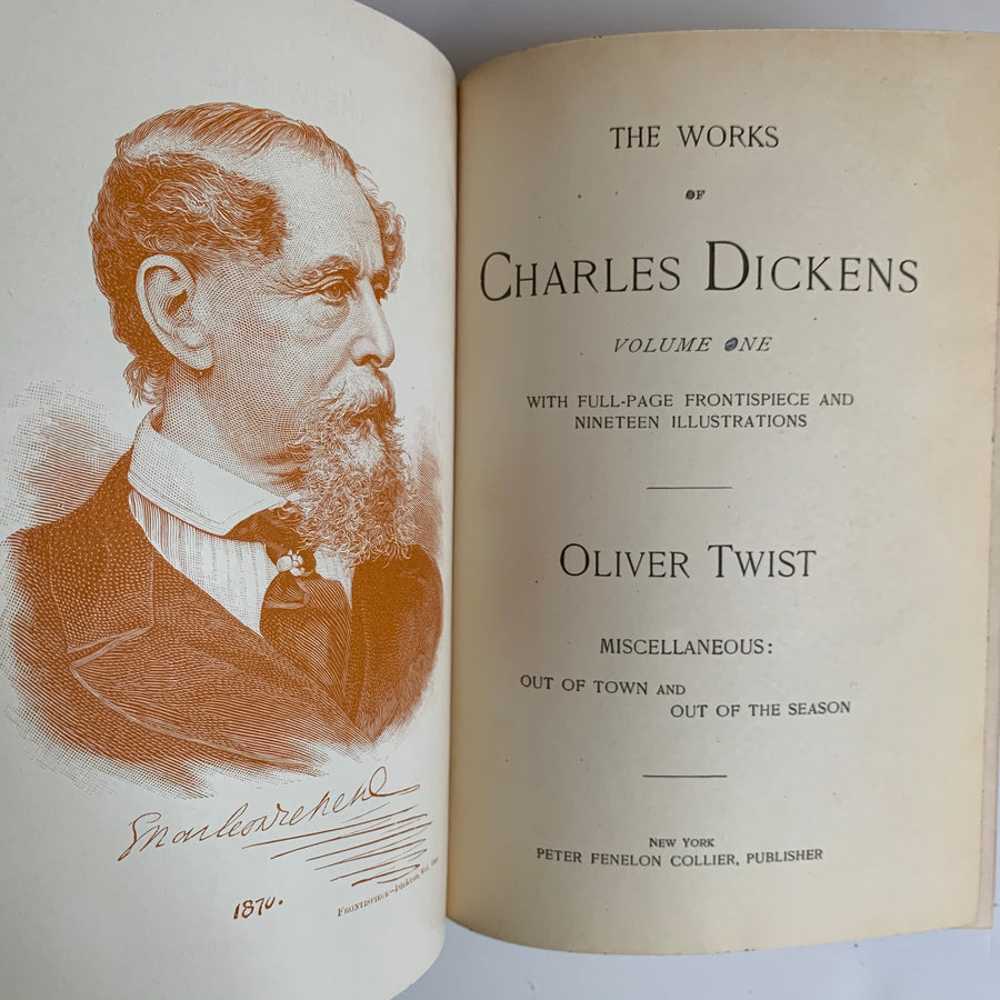 Circa 1895 - The Works of Charles Dickens