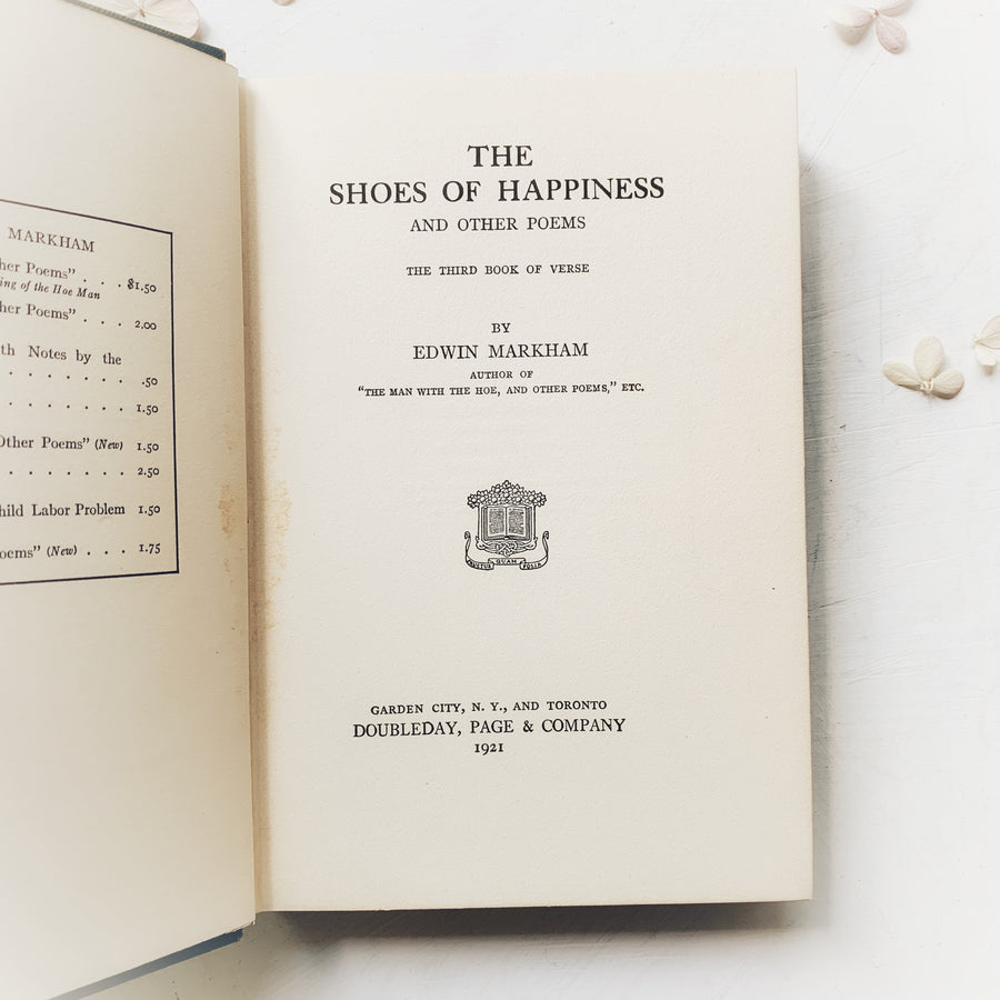 **Reserved for Rilie - 1921 - The Shoes of Happiness and Other Poems & 3 Audubon Prints