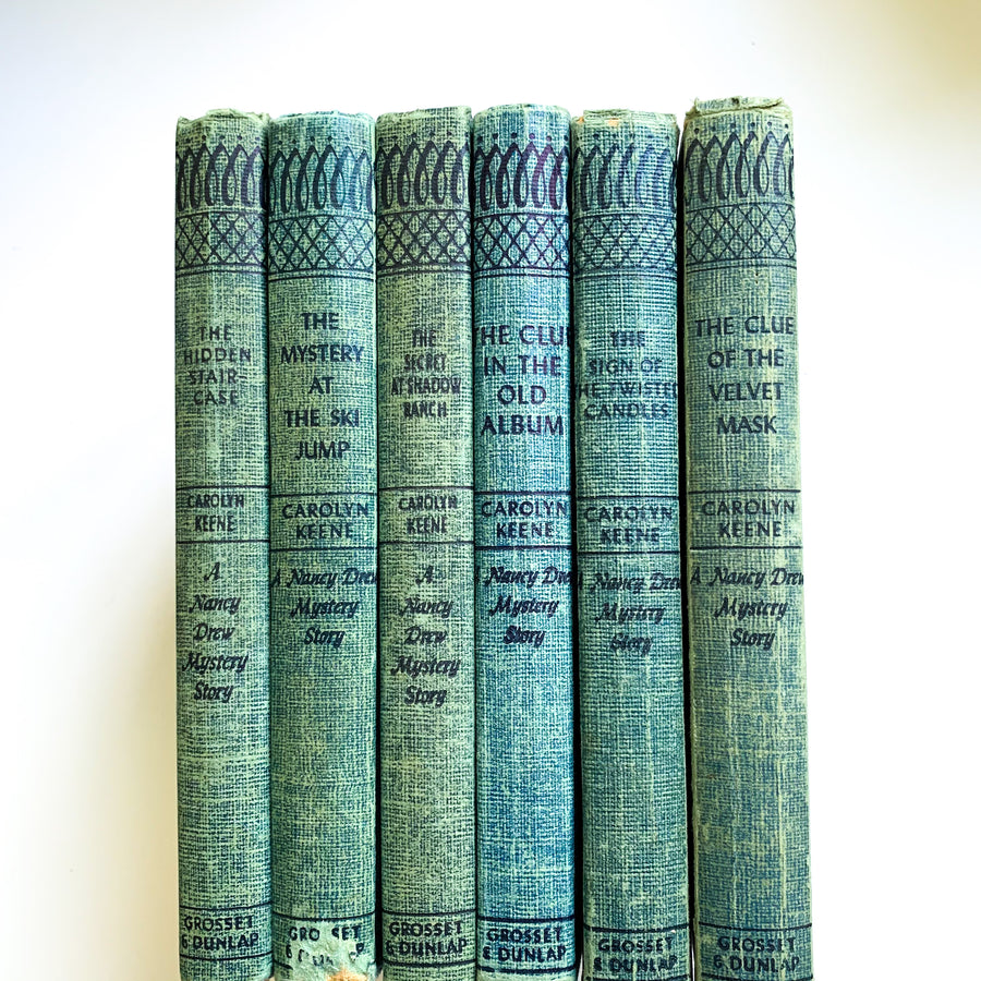 Vintage Nancy Drew Set