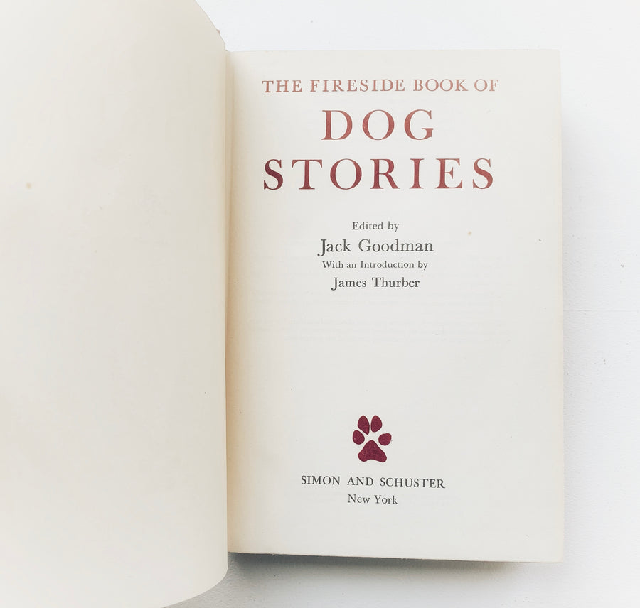 1943 - The Fireside Book of Dog Stories