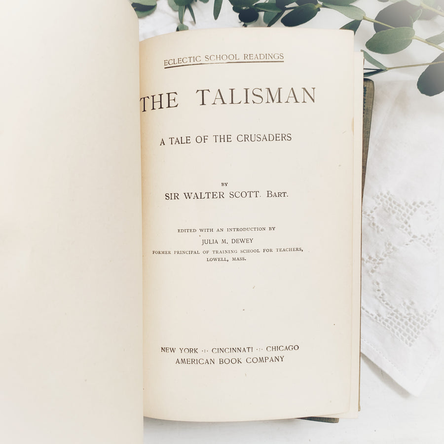 1899- 1938 -Set of Four Classics, A Tale of Two Cities, Don Quixote, Kenilworth & The Talisman