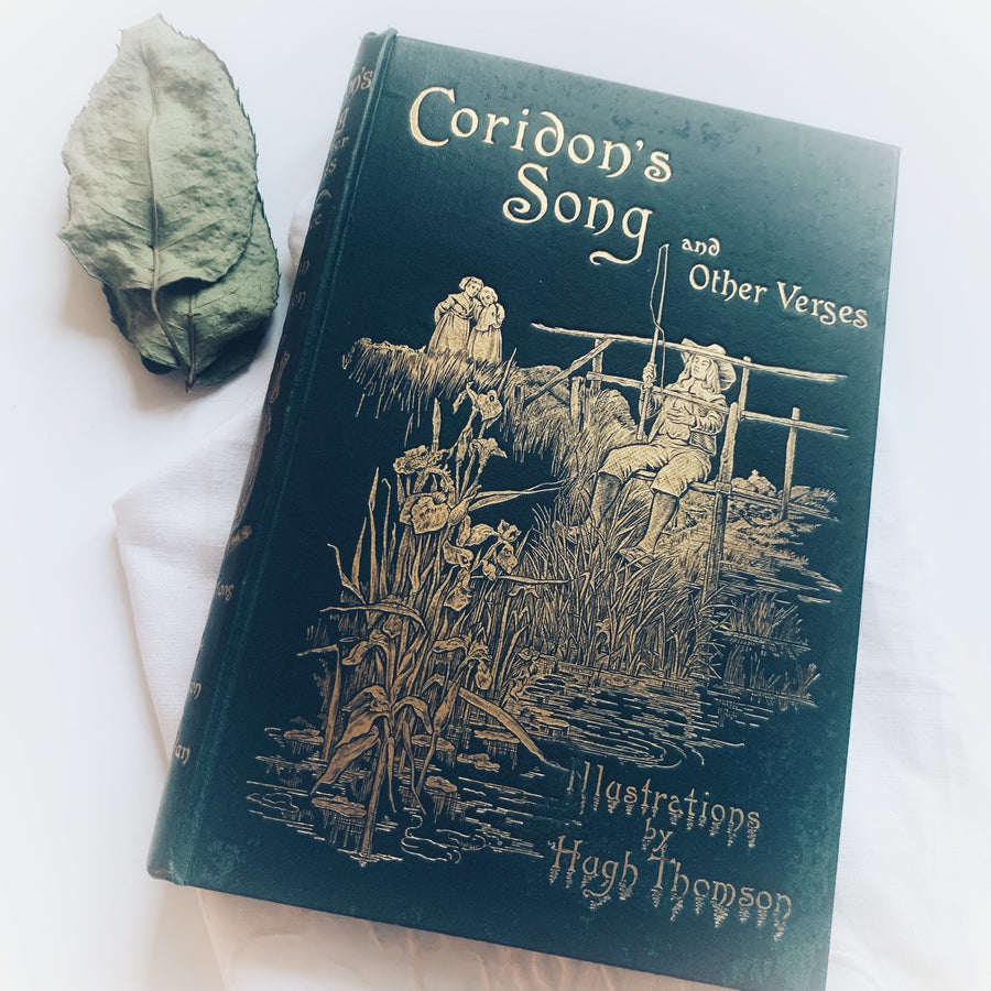 1894 - Coridon's Song and Other Verses, First Edition, Hugh Thomson Illustrator