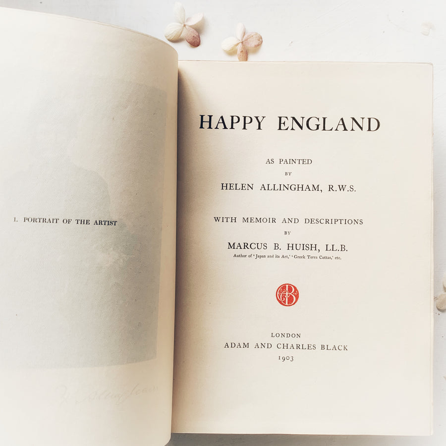 1903 - Happy England, First Edition