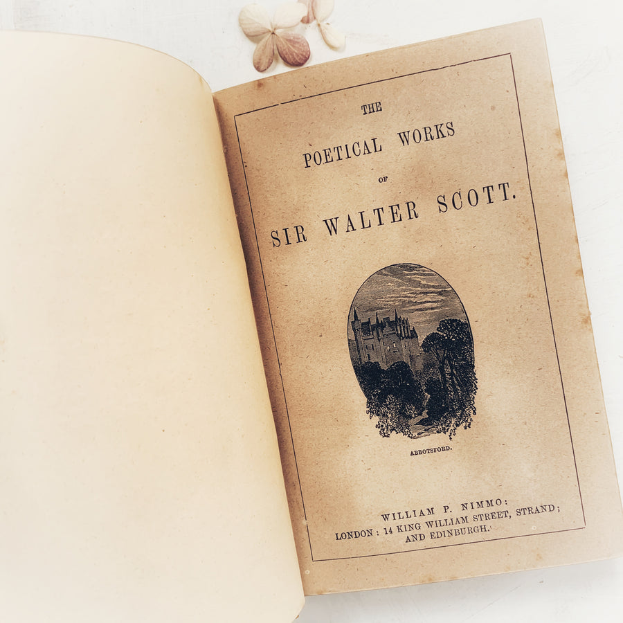 c. 1860s - The Poetical Works of Sir Walter Scott