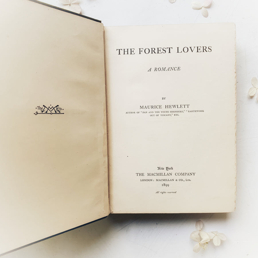 1899 - The Forest Lovers; A Romance