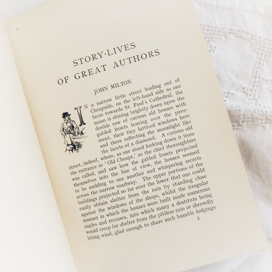 c. Early 1900s - Story-Lives of Great Authors