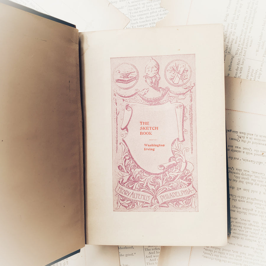 Circa Early 1900s-Washington Irving's The Sketch Book