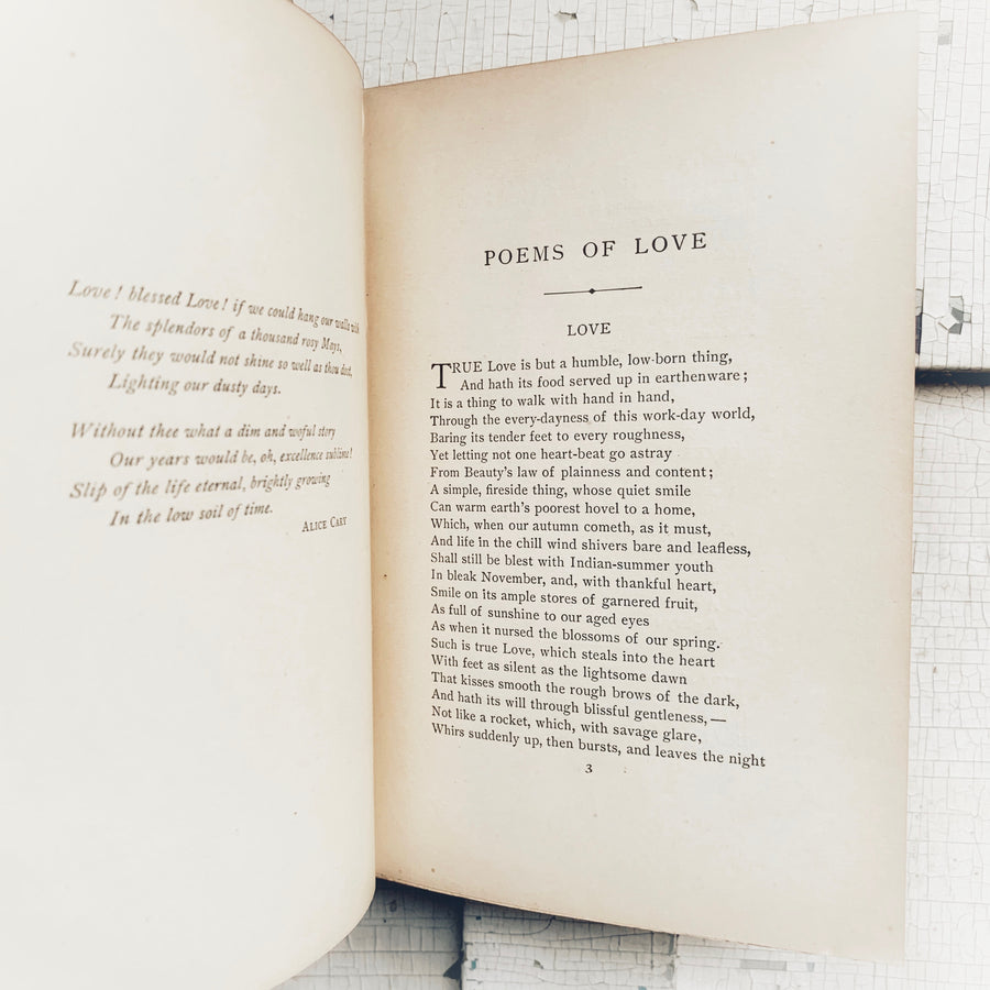 1894 - Because I Love You; Poems of Love