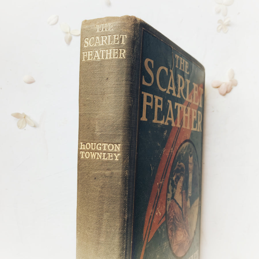 1909, The Scarlet Feather,  By Houghton Townley