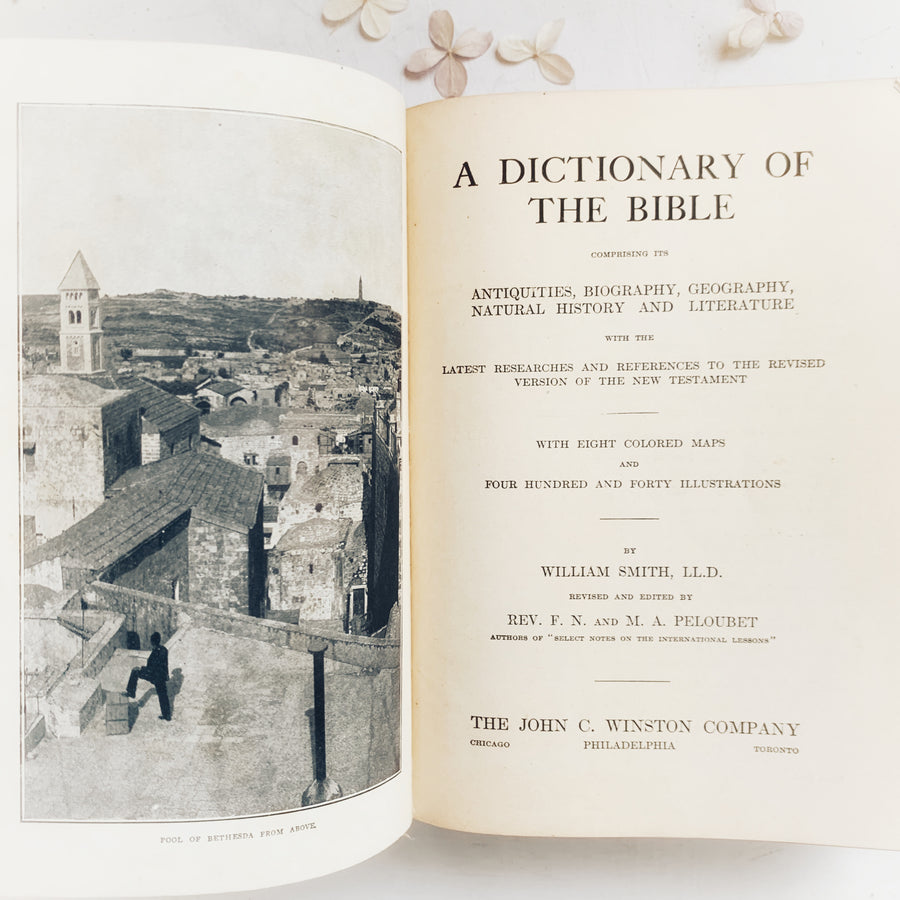 1884 - A Dictionary of the Bible