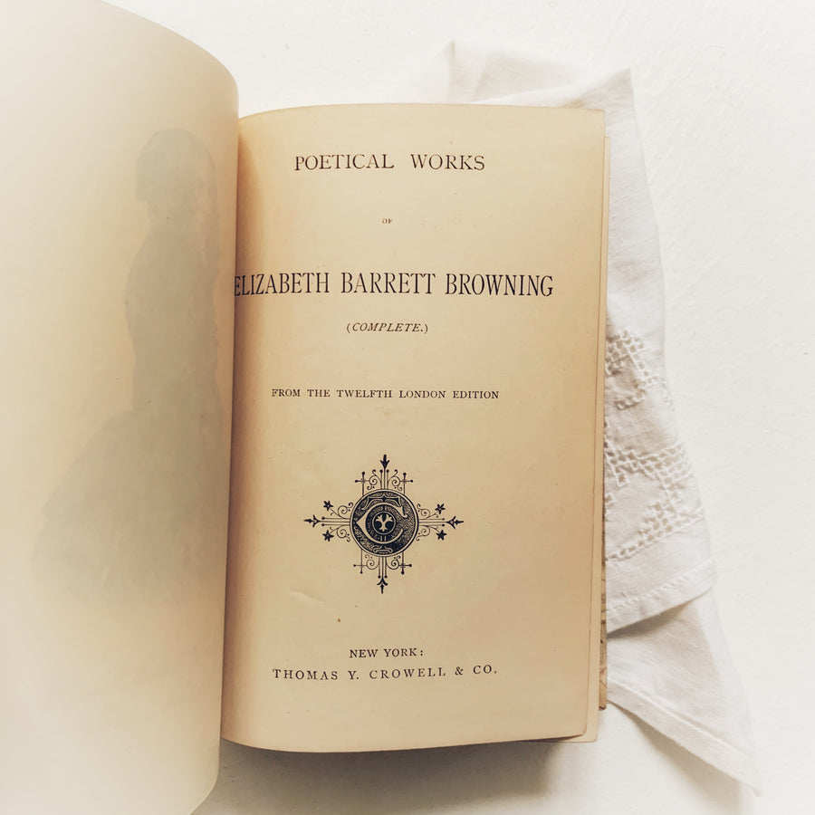 **Reserved for Kim** 1886 - Poetical Works of Elizabeth Barrett Browning