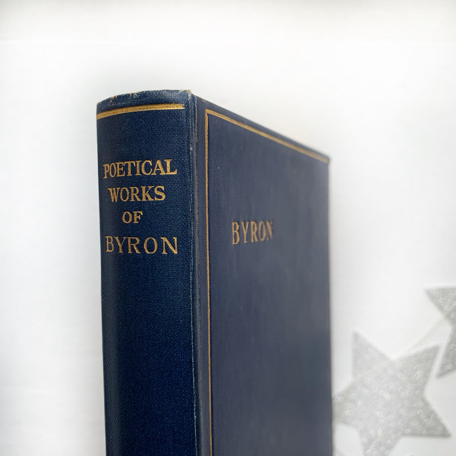 **RESERVED for Riley** 1928 - The Poetical Works of Lord Byron