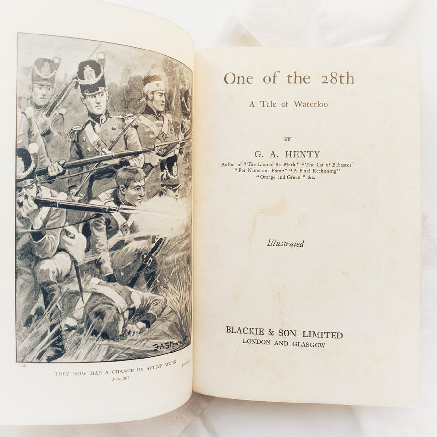 One Of the 28th, A Tale of Waterloo